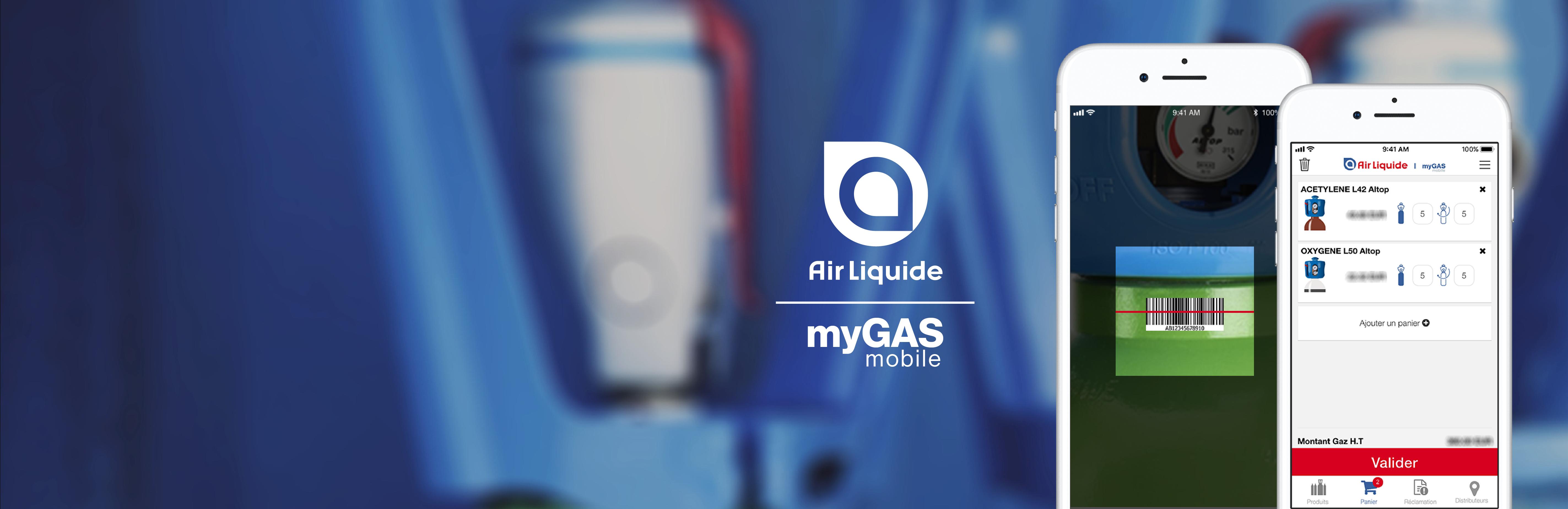 myGAS mobile - commandez vos gaz et trouvez un distributeur le plus proche de vous