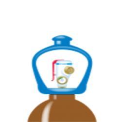 alphagaz™ 1 helium bouteille l50 smartop