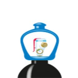 alphagaz™ 1 azote bouteille l50 smartop
